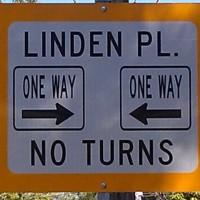 One Way No Turns